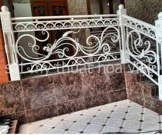Giá các mẫu cầu thang sắt ngoài trời hiện nay